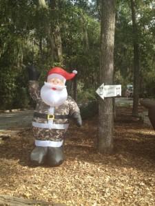 Who doesn't need a Camo Santa?!