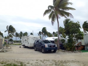 Our spot at Sunshine Key