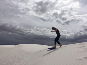 John at White Sands NM