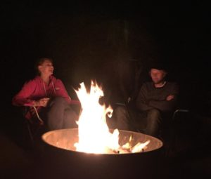 Campfires and s'mores - the theme of the week