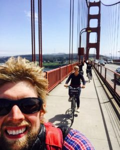 Golden Gate Cycle Selfie