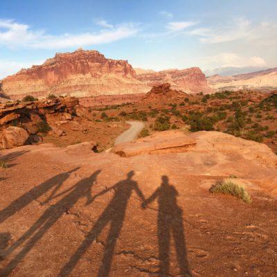Sharing the adventure in Utah