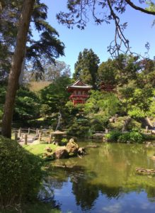 An oasis in the city - The Japanese Tea Garden in Golden Gate Park