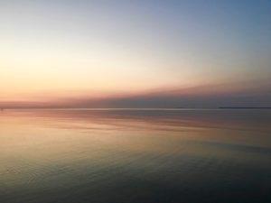 Dawn over Lake Michigan