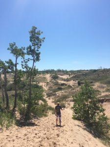 The Dunes Hike at Sleeping Bear Dunes NLS